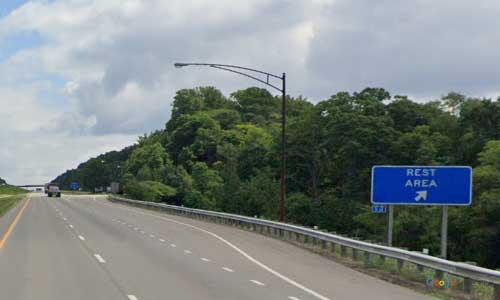 oh interstate 271 ohio i271 summit rest area mile marker 7 northbound off ramp exit