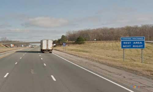 oh interstate 71 ohio i71 wayne rest area mile marker 196 northbound off ramp exit