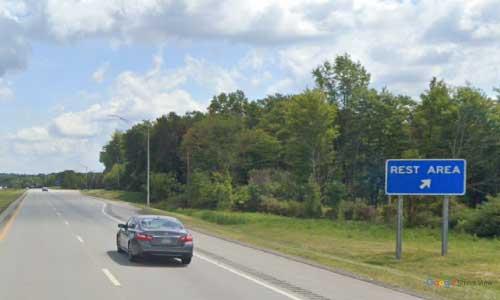oh interstate 76 ohio i76 portage rest area mile marker 45 eastbound off ramp exit