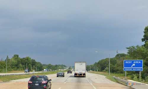 oh interstate 77 ohio i77 summit rest area mile marker 141 northbound off ramp exit