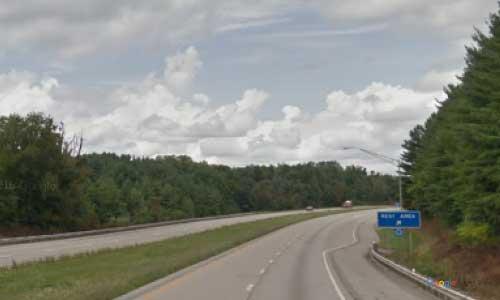 oh interstate 77 ohio i77 washington welcome center mile marker 3 northbound off ramp exit