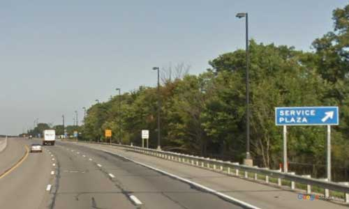 oh interstate 80 ohio i80 ohio turnpike great lakes service plaza mile marker 170 westbound off ramp exit