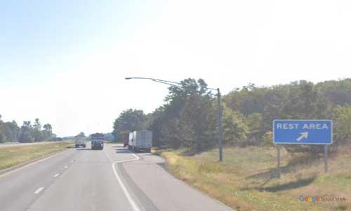 oh us route 30 ohio us30 allen rest area mile marker 42 eastbound off ramp exit entrance