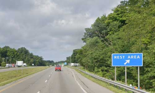 oh us route 30 ohio us30 richland rest area mile marker 131 westbound off ramp exit entrance