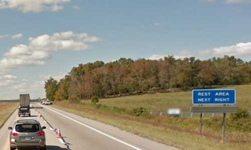 oh us route 35 ohio us35 gallia rest area mile marker 163 westbound off ramp exit entrance